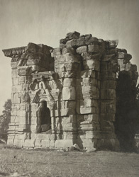 Kashmir. Temple of Sankaragaureswara near the village of Pathan. View from south-east. Probable date A.D. 883 to 901